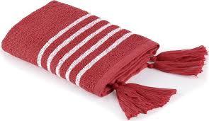 "<b>Полотенце Moroshka</b> ""<b>Maritime</b>"", цвет: белый, красный, 30 х 50 см ..."