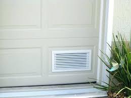 garage vent garage door ventilation full size of garage terrific great garage door vent with screen