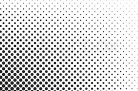 Big Dots Halftone Vector Background Stock Vector