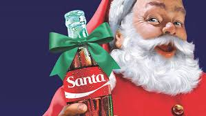 Image result for coca cola and santa