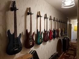 slat wall or other way to hang guitars