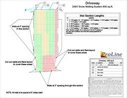 proline radiant heat and snow melting services proline heated driveway system design sample