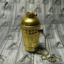 pull chain lamp socket lot antique gold lamp holder retro aluminium pull chain lamp double pull pull chain lamp socket