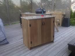 Outdoor Kitchen Wood Cabinets Algarve Apartments Outdoor Cabinets Diy