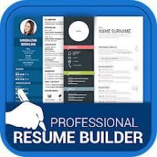 Professional Resume Maker Cv Builder Pdf Format Apk 1 0 7