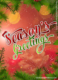 Seasons Greetings Words Just For You Free Downloads And Free