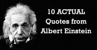 Einstein Quotes Custom 48 ACTUAL Quotes From Albert Einstein I Heart Intelligence