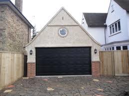 black garage doorBlack Garage Doors Tabulous Design Colorful Copper  Black
