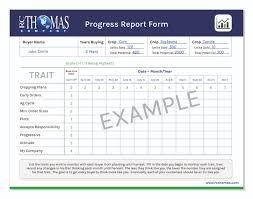 Company Progress Report Template Guatemalago
