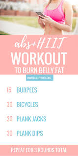 at home ab workout for women this is a mix between hiit and abs to