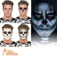 image is loading skeleton face paint make up kit glow in