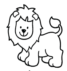 Baby Zoo Animal Coloring Pages Free Cute Animals Cartoon