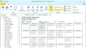 Free Employee Schedule Calendar Monthly Employee Schedule Template Excel Nursing Staff 7 Free Word E