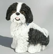 shih tzu figurine garden statue dog