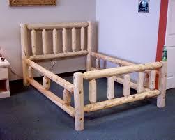 Cabin Creek Log Creations: Standard Log Bedframe, Queen