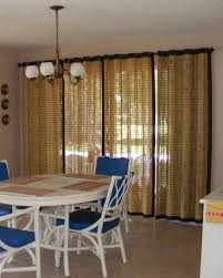window treatments for sliding glass doors bamboo curtains for sliding doors
