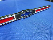 1966 impala parts new 1966 chevrolet impala bel air biscayne caprice ss rear trunk emblem 4227047 fits