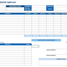 Monthly Expenses Spreadsheet Free Monthly Expense Report Template Stalinsektionen
