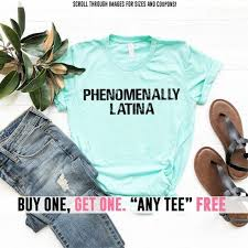 Power Pro Size Chart Phenomenally Latina Shirt Pro Women Rights Feminist