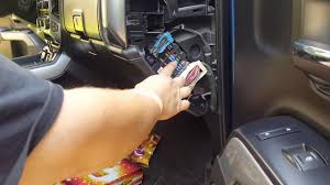 requested video) removing fuse panel covers on 2015 2500 silverado Fuse Tool at Remove Fuse Box On 2011 Traverse