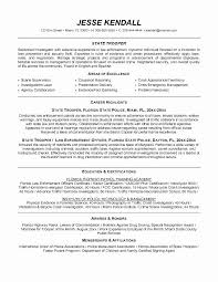 20 Law Enforcement Resume Objective Takethisjoborshoveit Com
