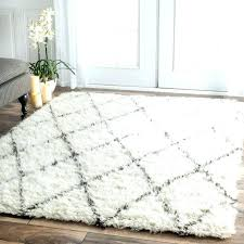 fluffy white area rug. Round Shag Area Rug Rugs Gray And White Grey Fluffy