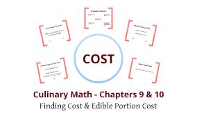 Culinary Math Conversion Chart Culinary Math Chapters 9 10 By Paul Wheeler On Prezi