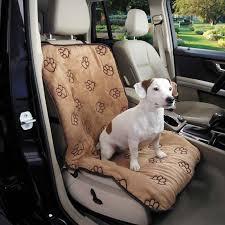 cruising companion pawprint single car seat cover camel