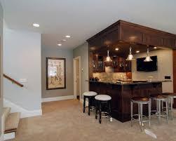 Elegant basement photo in Minneapolis