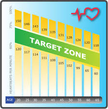 Aerobic Workout Heart Rate Chart 10 Factual Cardio Zone Heart Rate Chart