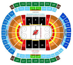 Nj Devils Seating Chart 3d Prudential Center Nj Seating View