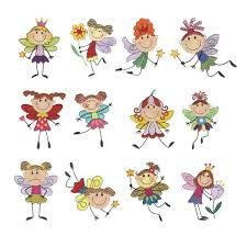 Embroidery Fairy Designs Meet The Stix Fairies Machine Embroidery Designs