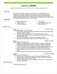 Examples Resume New 2017 Resume Format And Cv Samples Miamibox Us