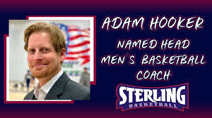 Adam Hooker Named Head Men's Basketball Coach   Sterling College ...