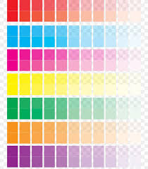 Color Chart Rgb Color Model Printing Yellow Png
