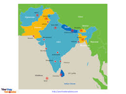 free editable maps south asia map with capitals free south asia editable map free