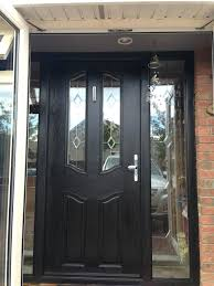 single glass front doors. black front doors with glass furniture single door mixed by wood and stainless d