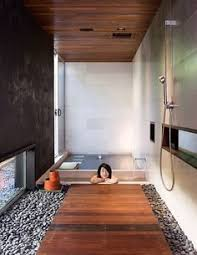 japanese bathroom design. the soaking tub in so cal house shino and ken mori swell bath shower fixtures are by dornbracht. like shower/soaking \ japanese bathroom design