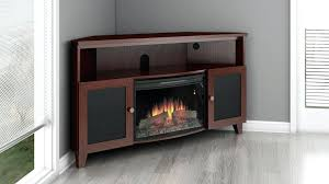 electric fireplaces tv console inch corner electric fireplace stand dark cherry finish electric fireplaces tv console