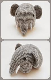Crochet Stuffed Elephant Pattern Simple Design Ideas