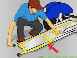 how to hook up a tow dolly and lights to a car pictures image titled hook up a tow dolly and lights to a car step 4