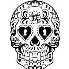 Day Of The Dead Coloring Sheets Day Of Dead Coloring Pages
