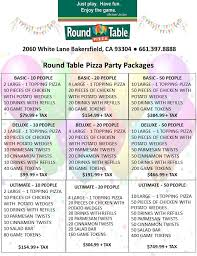photo of round table pizza bakersfield ca united states our great party