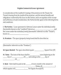 Standard Commercial Lease Agreement Free Commercial Lease Agreement Templates Template Lab Building