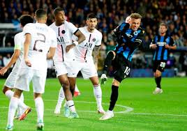 I risultati di Champions League   1ª giornata   impresa Brugge contro il  Psg