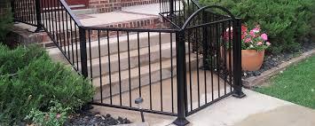 wrought iron privacy fence. Ottawa Wroughtironfenceplusgate Wrought Iron Privacy Fence R