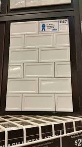 up down down subway tile from lowe s