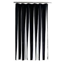 flocked shower curtain cologne white black gray fabric curtains