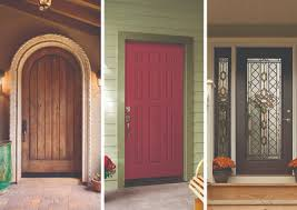 What are the different types of exterior doors offered by JELD-WEN?