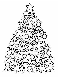 Small Picture Gorgeous Christmas Tree for Christmas Coloring Page Download